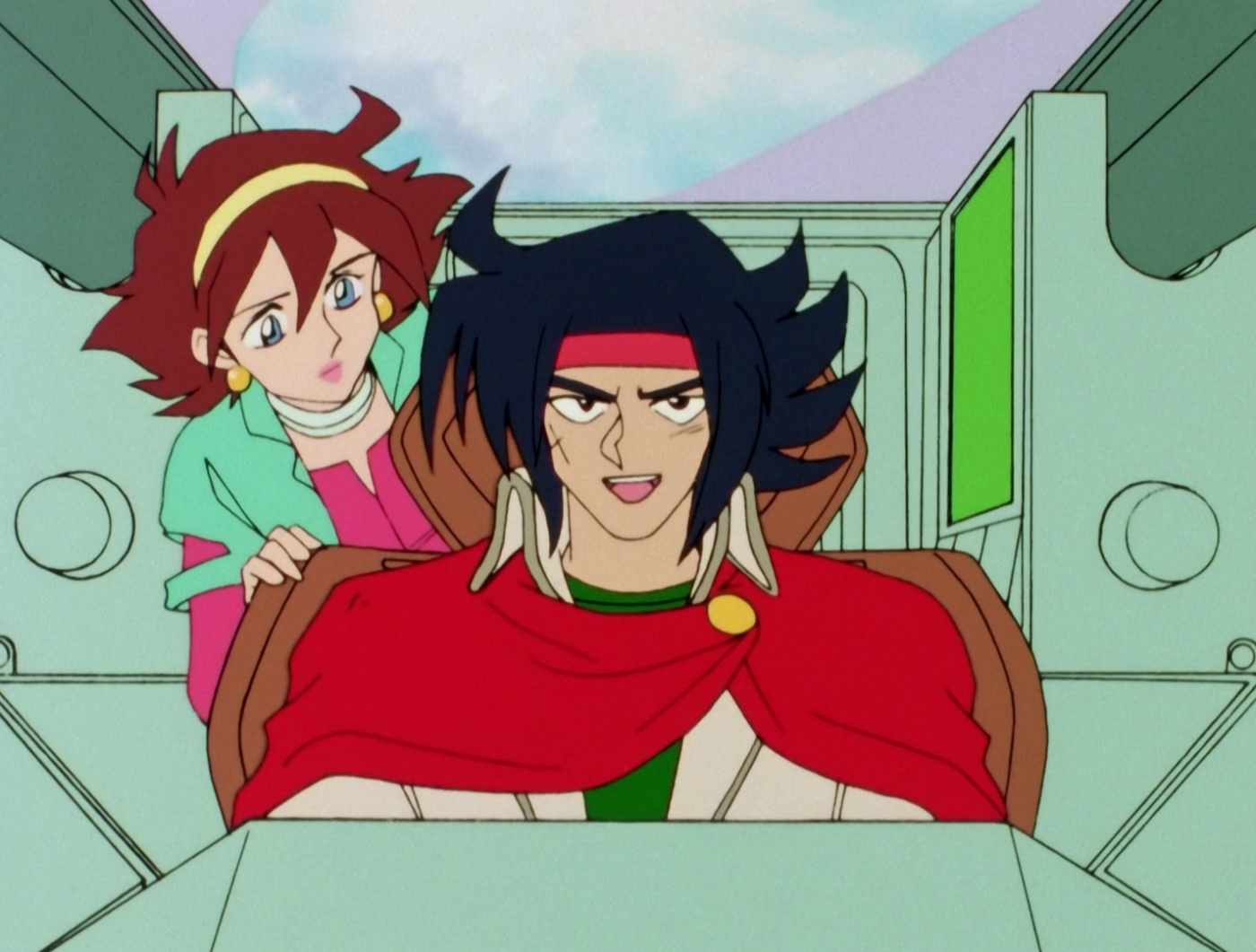 Mobile Fighter G Gundam, G Gundam, Anime, Domon, Kasshu, Rain, Mikamura, Manon, Noble, Chapman