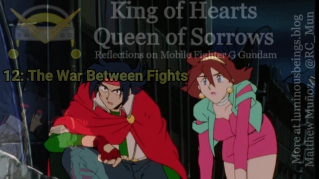 Mobile Fighter G Gundam, G Gundam, Gundam, Anime, Domon Kasshu, Rain Mikamura, Dark Gundam, Devil Gundam