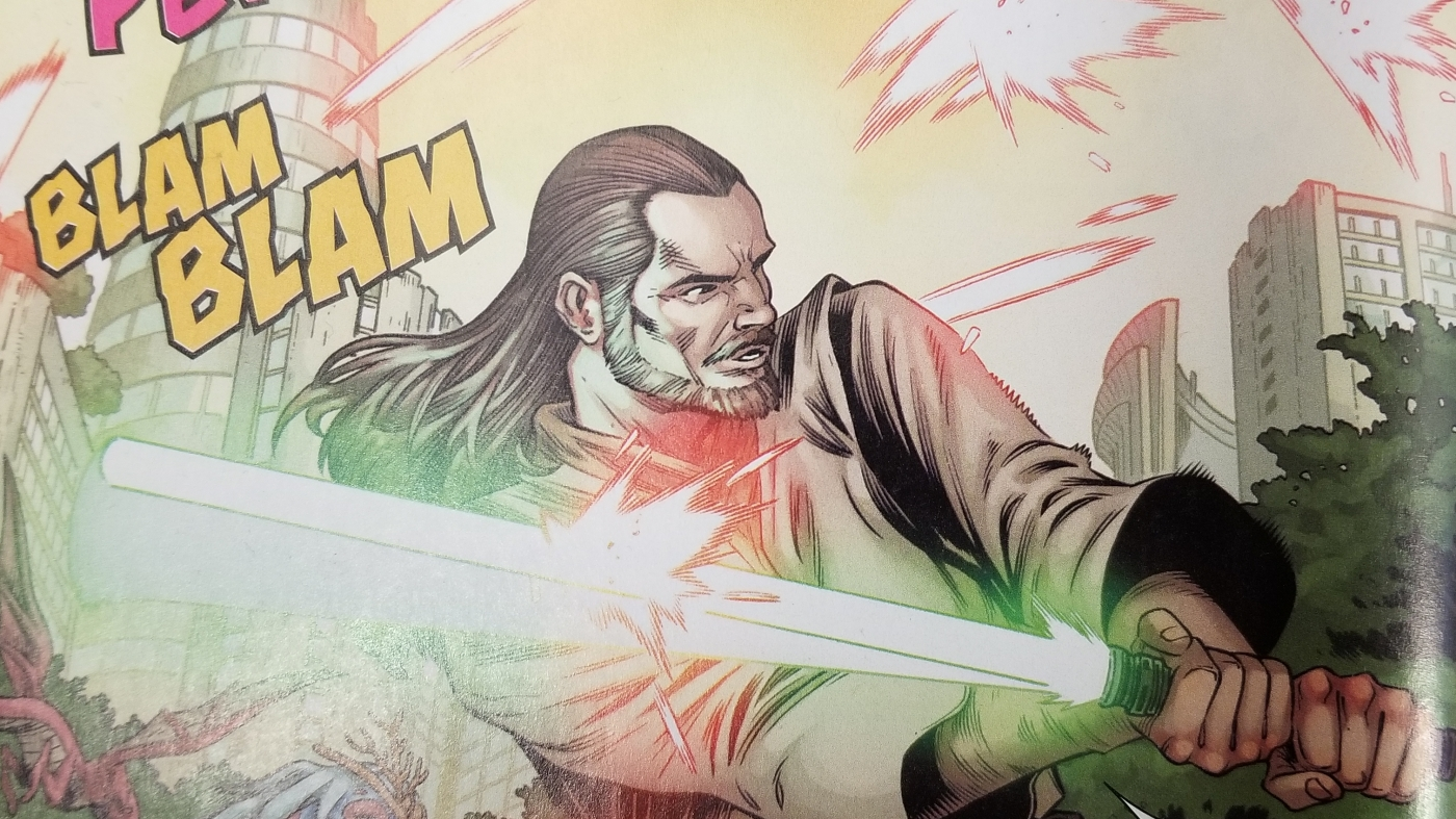 Star Wars, Marvel Comics, comic book, Qui-Gon Jinn, Jedi