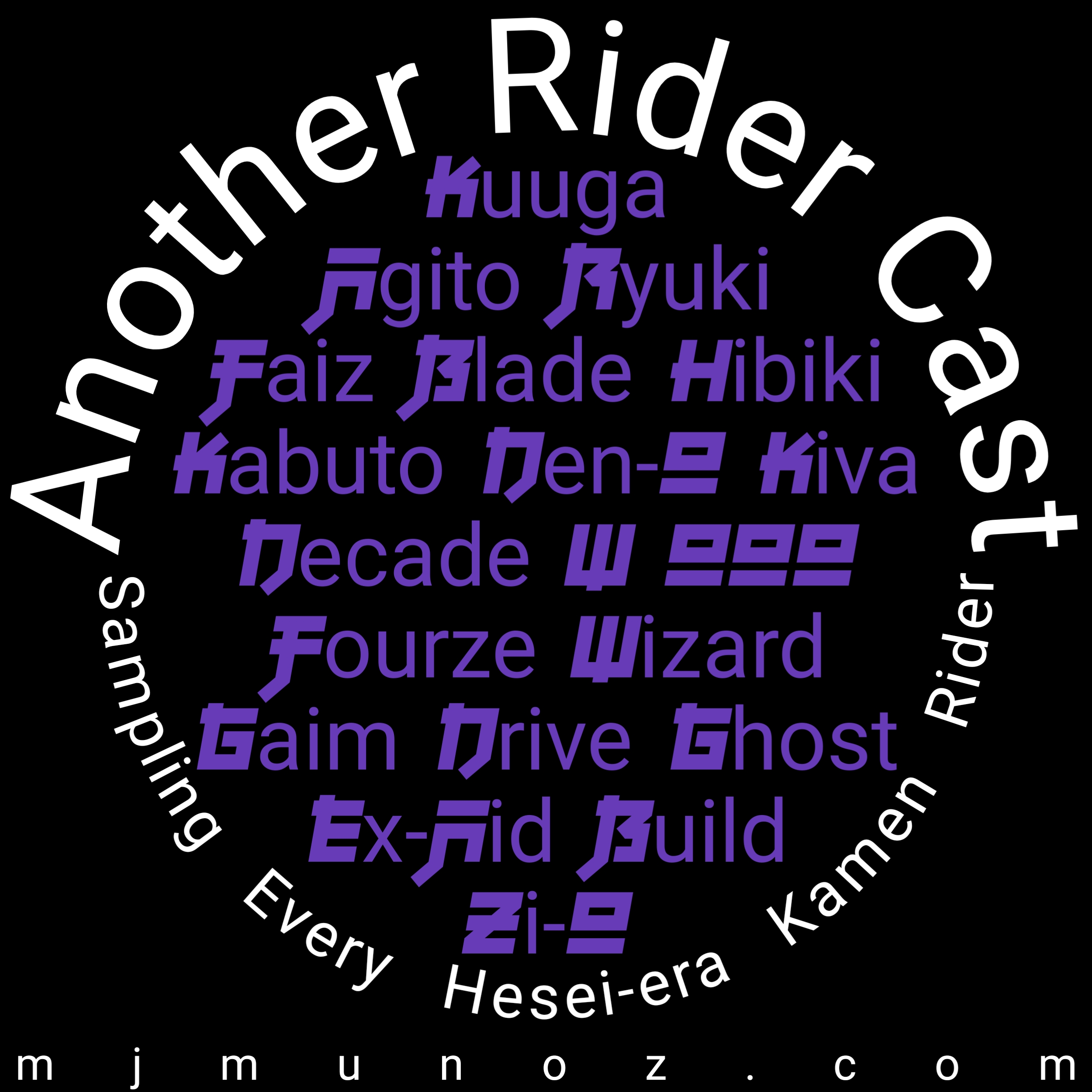 album, podcast, pod, gu, anothr rider cast, ride, kamen rider
