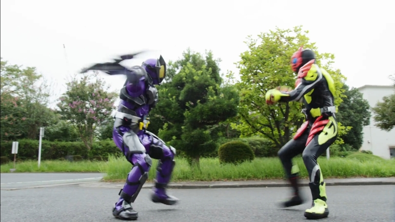 Kamen Rider Zero-One 9, Horobi, Zero-One, Flaming Tiger