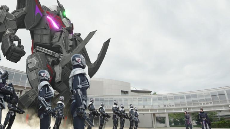 Kamen Rider Zero-One 9, Gigar, Aruto, Izu, Jin, Horobi, Humagear, Magear