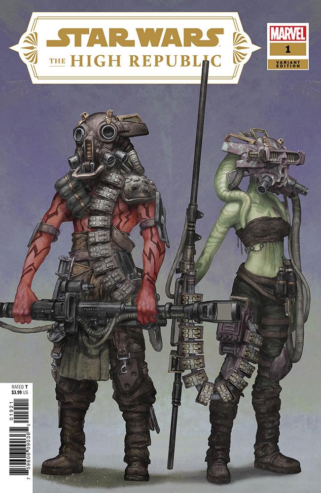 Star Wars, High Republic. Cavan Scott, Marvel Comics