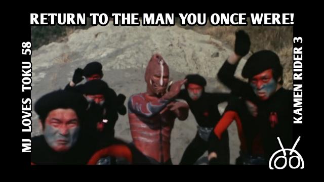 Kamen Rider, MJ Loves Toku, Kamen Rider 1971, Kamen Rider Ichigo, Takeshi Hongo, Scorpion Man, Shocker