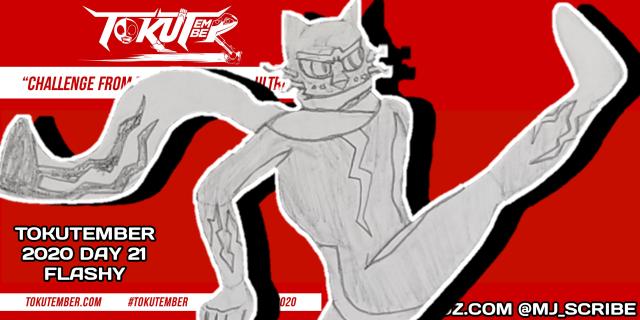 2020, tokutember, 21, flashy, tokusatsu, original character, lines, featured