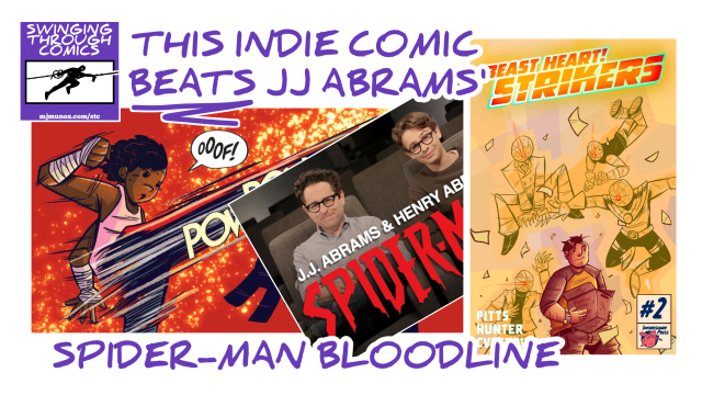 SWINGING THROUGH COMICS, STC 44, BEAST HEART STRIKERS 2, ANALYSIS, TOKUSATSU, COMIC BOOK, JJ ABRAMS