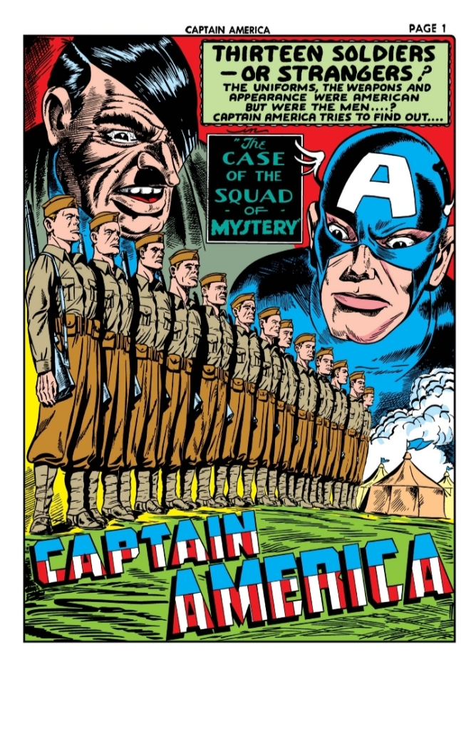 Captain America Comics 11, Captain America, Timely Comics, Marvel Comics, Hitler