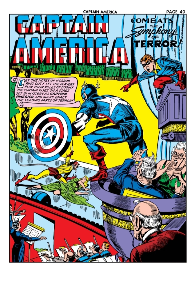 Captain America Comics 11, Captain America, Timely Comics, Marvel Comics, Bucky, Mephisto