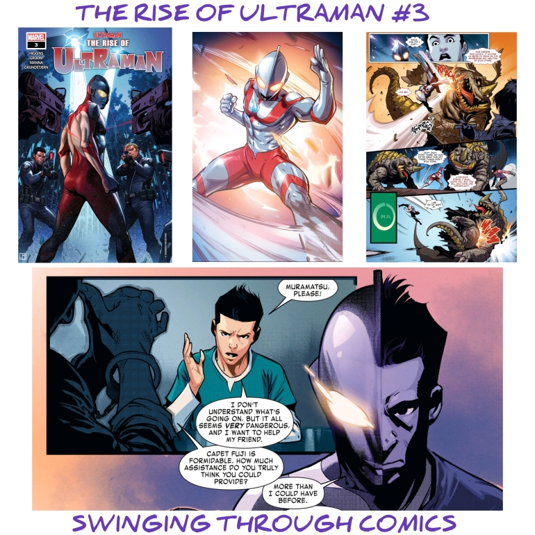 Rise of Ultraman, Rise of Ultraman 3, Ultraman, Marvel Comics, Tokusatsu, Swinging Through Comics 49