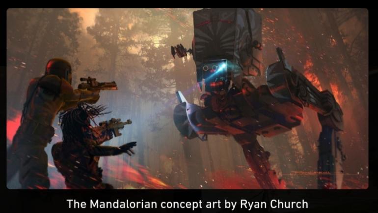 The Mandalorian, Mandalorian, Sanctuary, Fooly Operational, AT-ST