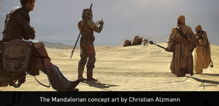 Mandalorian, Concept Art, Chapter 5,Tatooine, Sand People