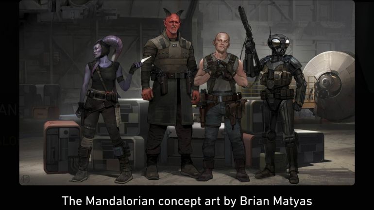 Mandalorian, Concept Art, Chapter 6, The Prisoner, Crew