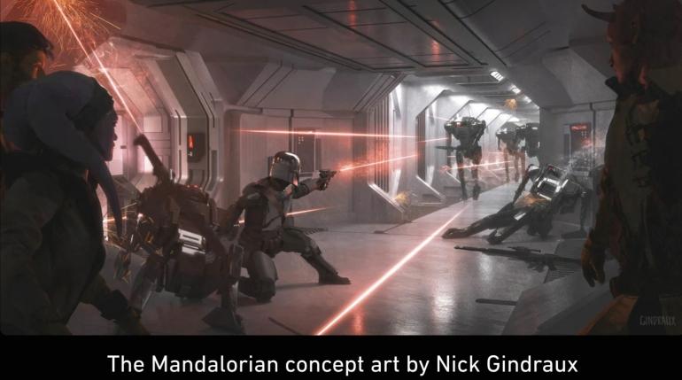 Mandalorian, Concept Art, Chapter 6, The Prisoner, Shoot Out