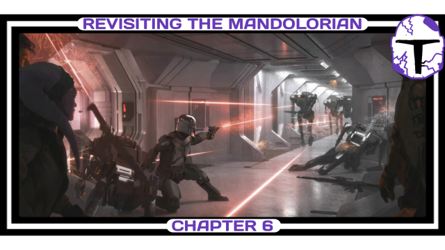 Mandalorian, Concept Art, Chapter 6, The Prisoner, Shoot Out, featured