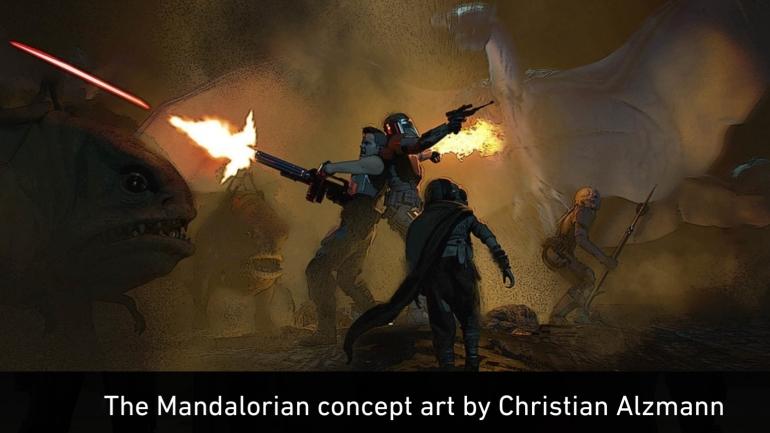 Mandalorian, Concept Art, Chapter 7, Reckoning, Navarro, Night