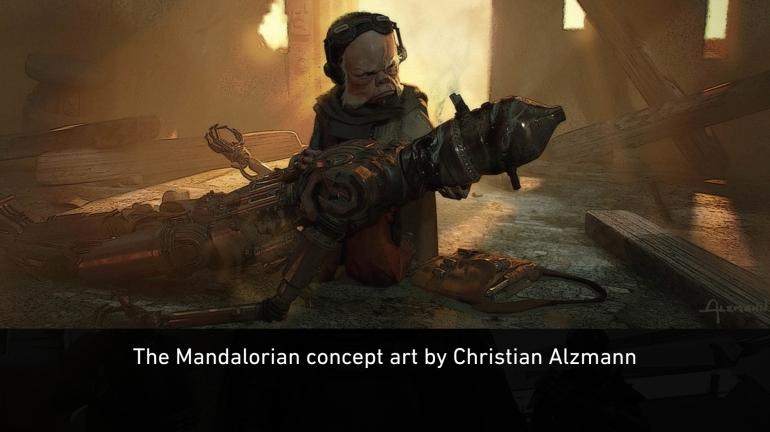 Mandalorian, Concept Art, Chapter 7, Reckoning, Death, IG-11, Kuiil