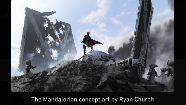 Mandalorian, Concept Art, Chapter 8, Moff Giedon