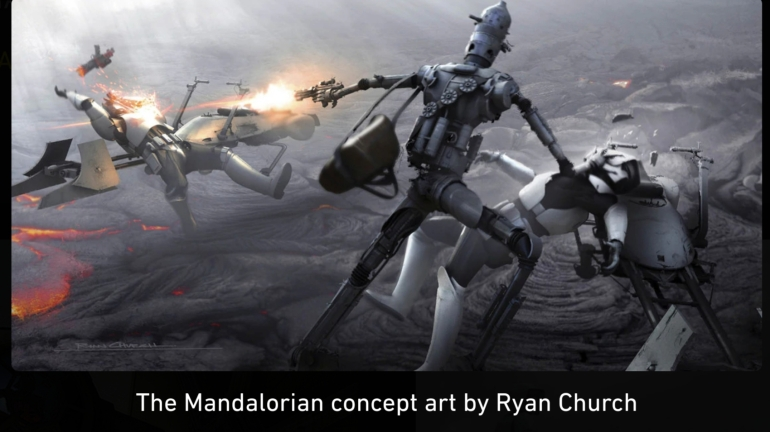 Mandalorian, Concept Art, Chapter 8, Redemption, IG-11, Storm Troopers