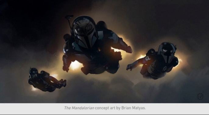 Star Wars, The Mandalorian, Chapter 11, Mandos, Jet Packs, Flying