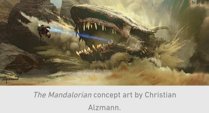 Star Wars, The Mandalorian, Chapter 9, Krayt Dragon, Mando, Din Djarin