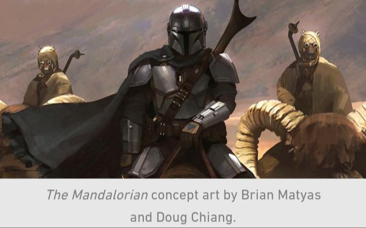Star Wars, The Mandalorian, Chapter 9, Sand People, Mando, Din Djarin