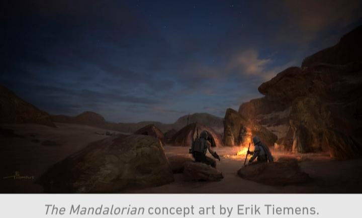 Star Wars, The Mandalorian, Chapter 9, Sand People, Mando, Din Djarin, night