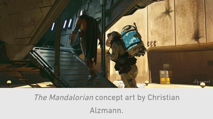 Star Wars, The Mandalorian, Chapter 10, Din Djarin, Frog Lady, Eggs, Razor Crest
