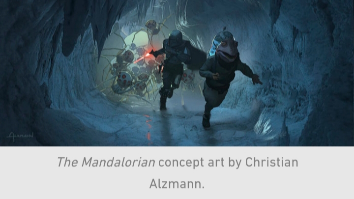 Star Wars, The Mandalorian, Chapter 10, Ice, Spiders, Din Djarin, Frog Lady, Run