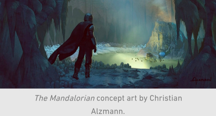 Star Wars, The Mandalorian, Chapter 10, Din Djarin, Frog Lady, Hot Spring