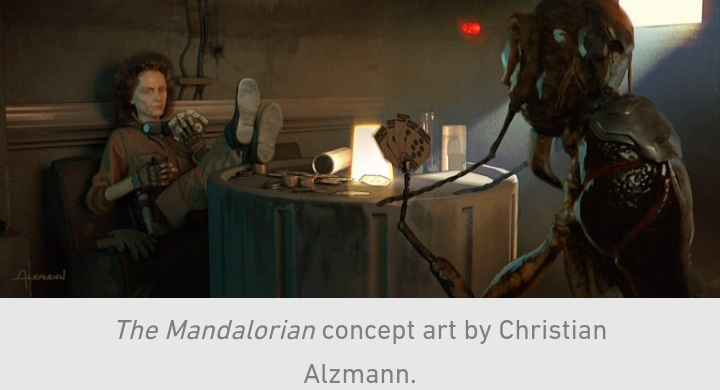 Star Wars, The Mandalorian, Chapter 10, Cantina, Cards, Ant, Mechanic, Peli Motto