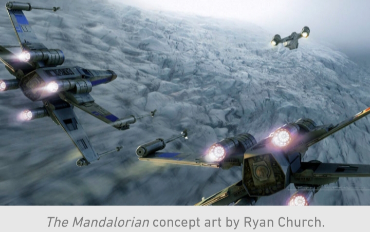 Star Wars, The Mandalorian, Chapter 10, X-Wing, Chase, Razor Crest